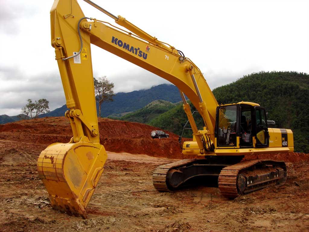Technology excavation and embankment dam