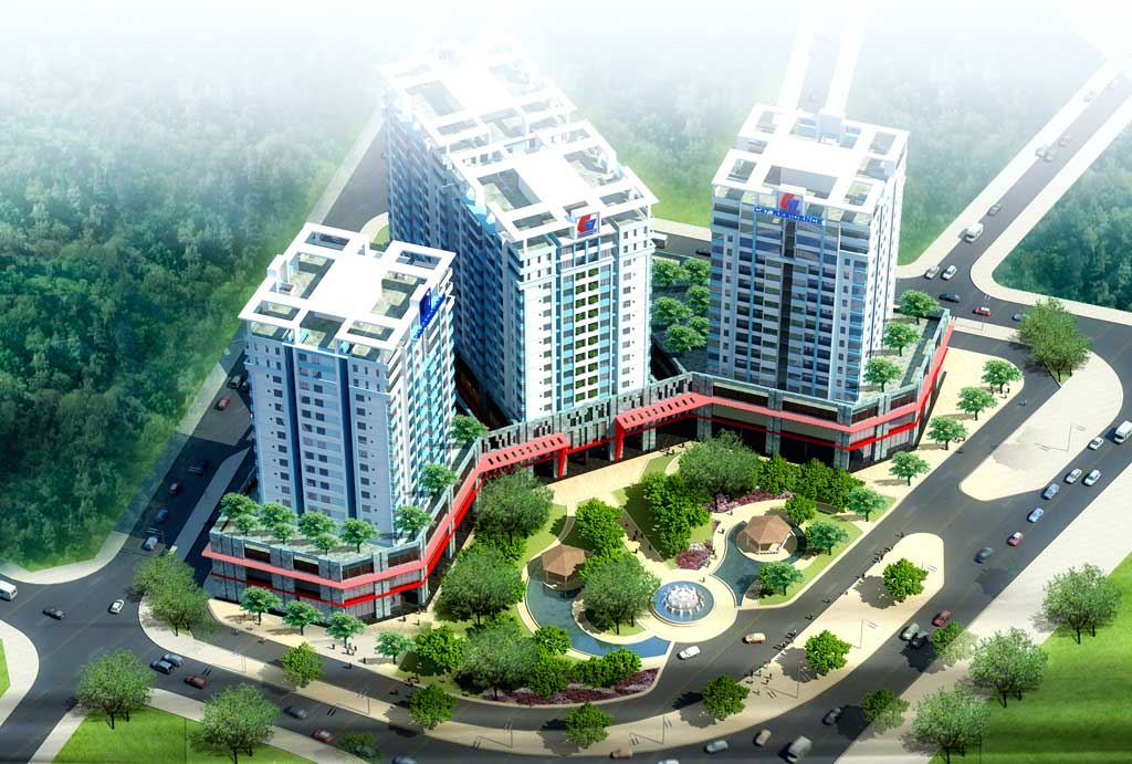 Investing building apartment at 105 Tay Son street, Quy Nhon City, Binh Dinh Province, Vietnam
