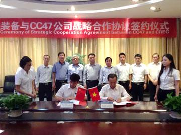 Ký kết hợp tác giữa CC47 và CREG