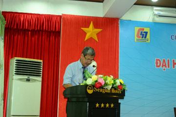 Ông Trần Đức Dương – Thư ký đọc biển bản Đại hội
