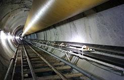 Hầm TBM - Công trình thủy điện Thượng Kon Tum