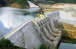 Thi công các hạng mục xây dựng chính và lắp đặt các thiết bị cơ khí thuỷ công công trình thủy điện Trung Sơn
