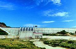 Đập bê tông trọng lực RCC - Hồ chứa nước Nước Trong