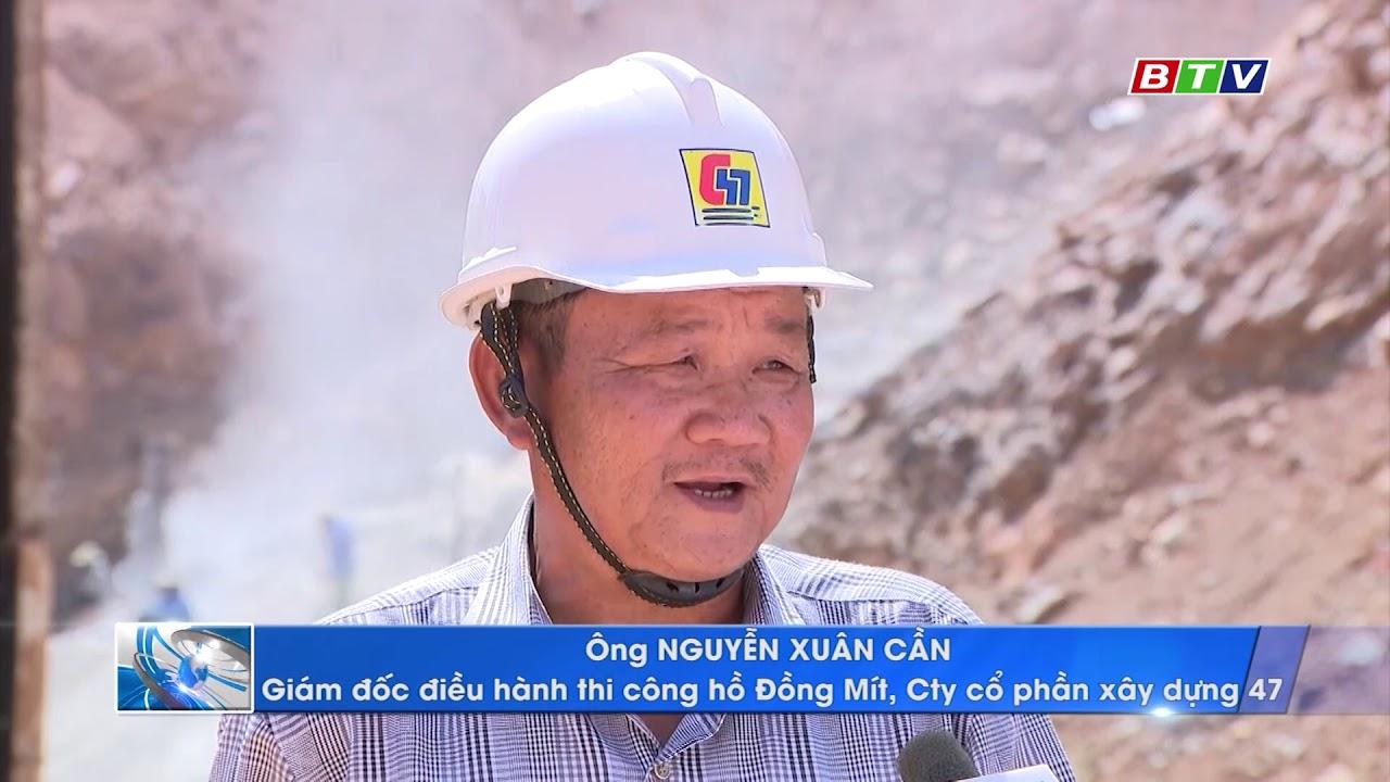 Phóng sự Thi công Dự án hồ chứa nước Đồng Mít