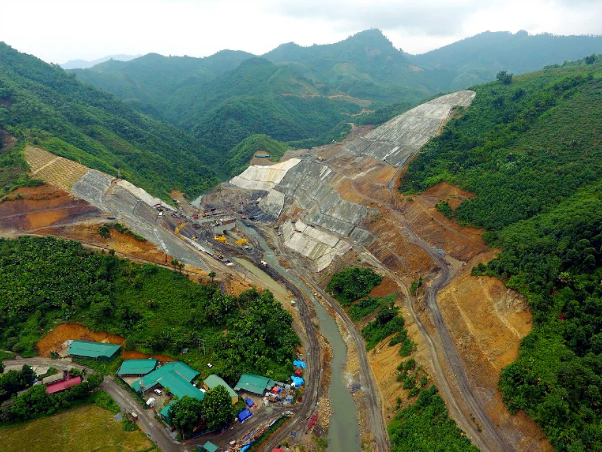 Cập nhật ảnh thi công Dự án hồ chứa nước Ngòi Giành, tỉnh Phú Thọ (11/11/2019)