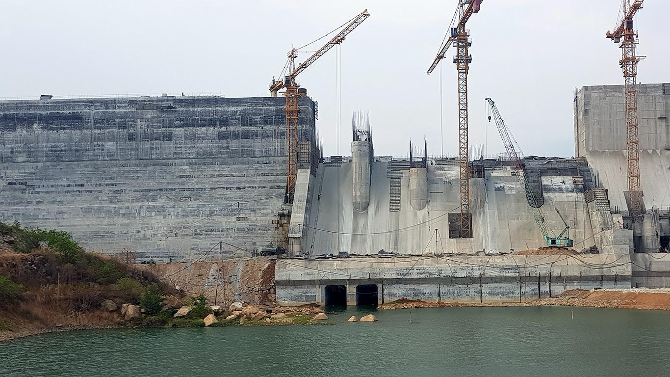 Cập nhật hình ảnh thi công Công trình thủy lợi Tân Mỹ (11/04/2020)