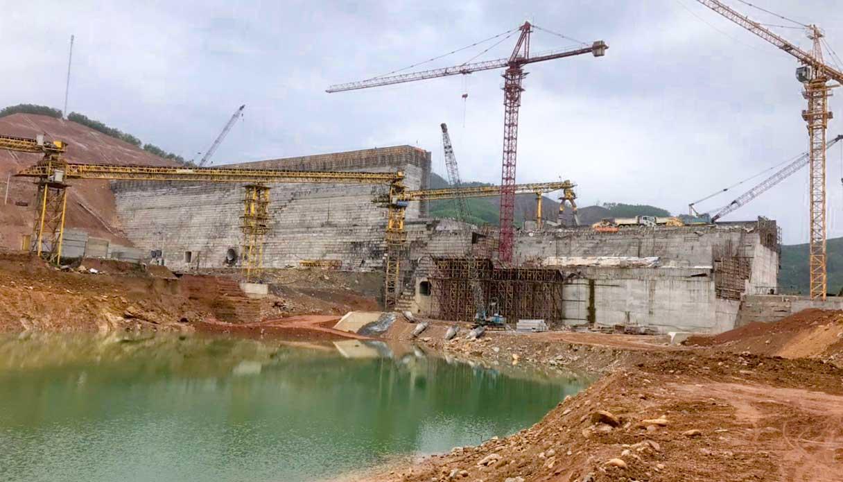 Cập nhật tiến độ thi công công trình Hồ chứa nước Đồng Mít đến tháng 2/2021
