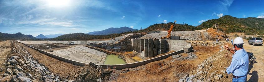 Giai đoạn 1 dự án Thủy điện Tích năng Bác Ái dự kiến sẽ vượt tiến độ 15 ngày