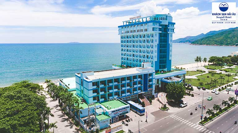 Hai Au Hotel began as a lodging facility in Quy Nhon with 100 percent capital from CC47