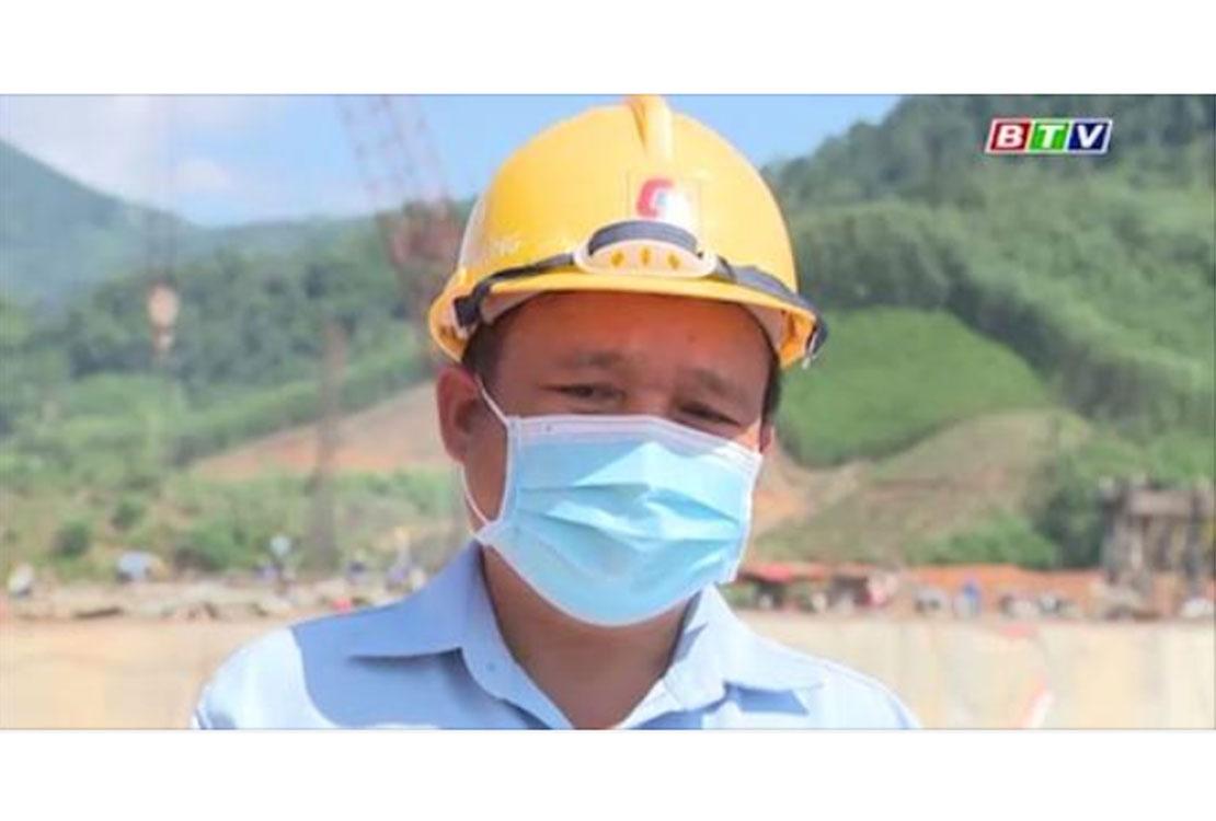 Video clip: Hồ Đồng Mít đảm bảo yêu cầu vượt lũ năm 2021 an toàn