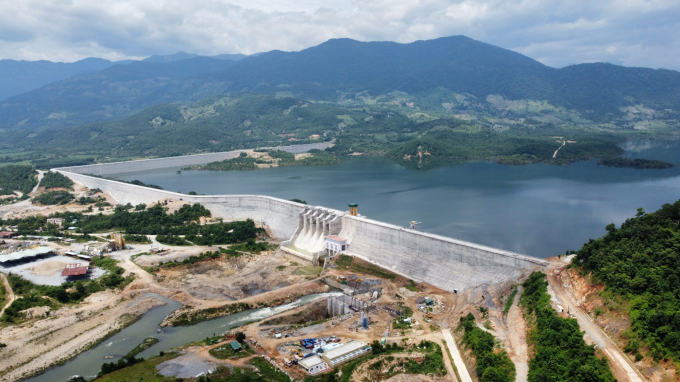 The main project of Tan My reservoir is ahead of schedule